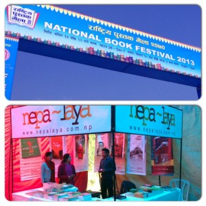 nepalaya publications at National Book Festival