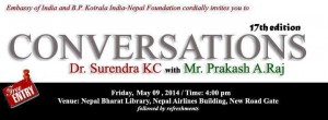 Conversations with Dr. Surendra KC with Prakash A. Raj