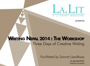 La.Lit creative writing course with Samrat Upadhyay