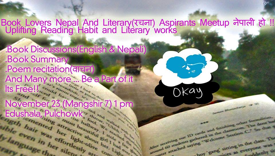 Book Lovers Nepal event