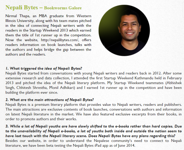 Nepali Bytes Interview